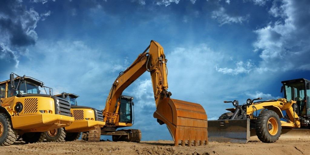Construction Machines Ready To Work Picture Id157481411