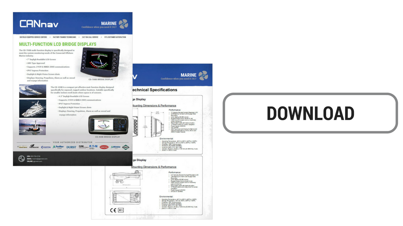 CANnav LCD Display